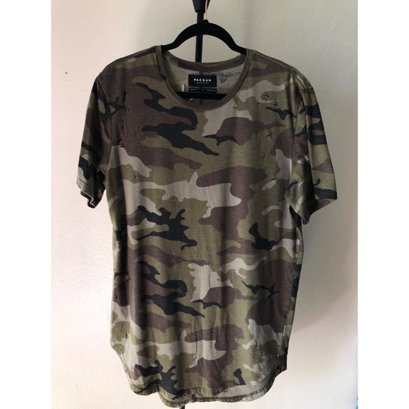 PacSun Other - Pacsun Army Ripped Shirt